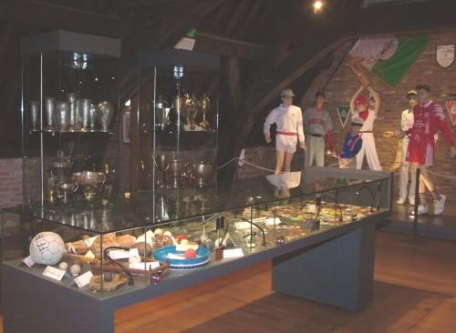 gant, paume, musée, jeu de balle