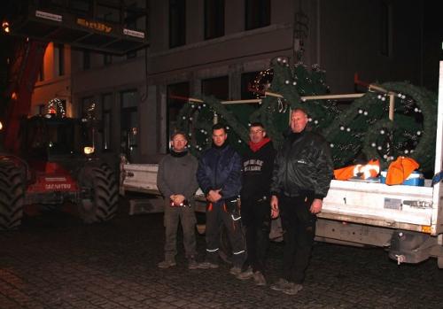 ouvriers communaux, nuit,perturbations